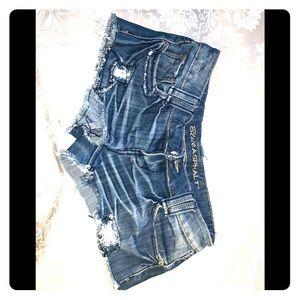 Blue asphalt Shorts sz. 3